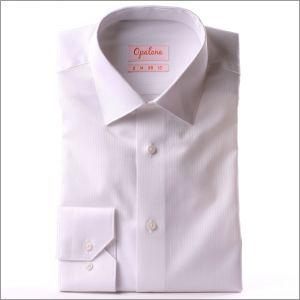 Chemise blanche tissu à petits chevrons