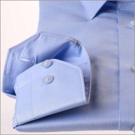 Chemise bleu clair tissu oxford
