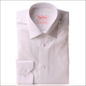 Chemise blanche rayée