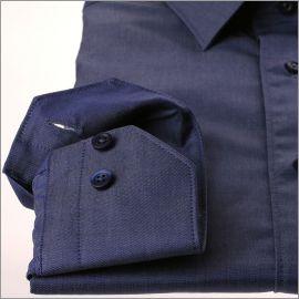 Chemise garbardine bleu jeans