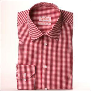 Chemise à carreaux rouges