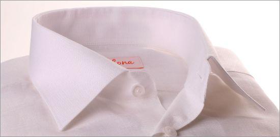Chemise blanche tissu lin