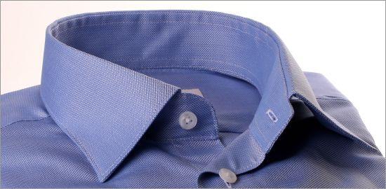 Chemise oxford bleu